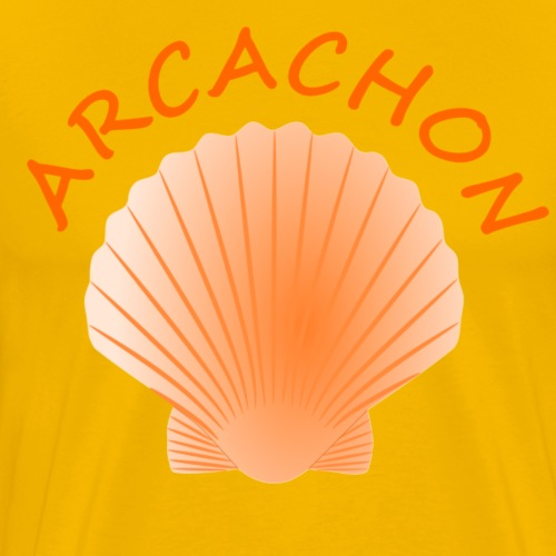Arcachon Shell - Men's Premium T-Shirt