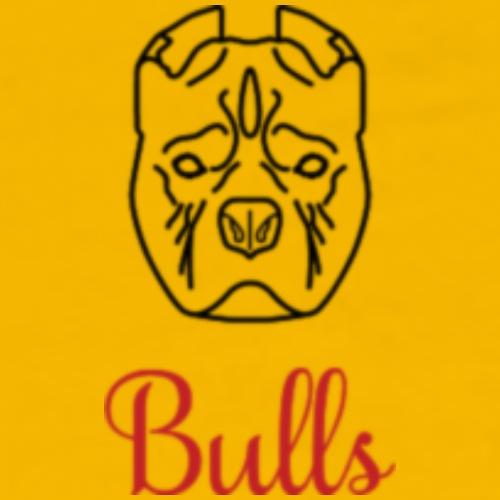bulls - Herre premium T-shirt