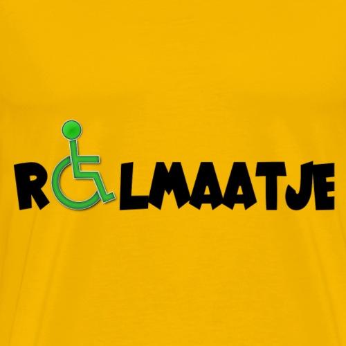 > Rolstoelgebruikers kunnen ook een rolmaatje zijn - Mannen Premium T-shirt