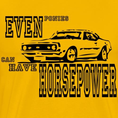 68 camaro - Herre premium T-shirt