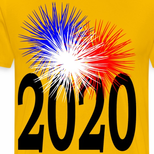 Feu d'artifice 2020 - T-shirt Premium Homme