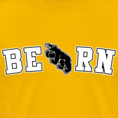 Berncity Bear Typo 02 white - Männer Premium T-Shirt