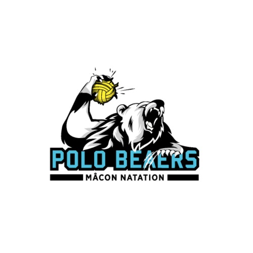Logo Water Polo Fonds Clairs