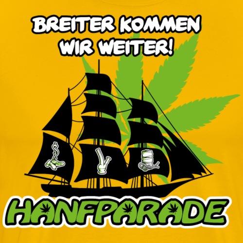 Hanfparade 2017 - Breiter kommen wir weiter - Männer Premium T-Shirt