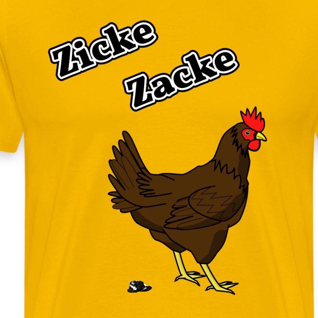 Zicke Zacke Hühnerkacke / Design 2