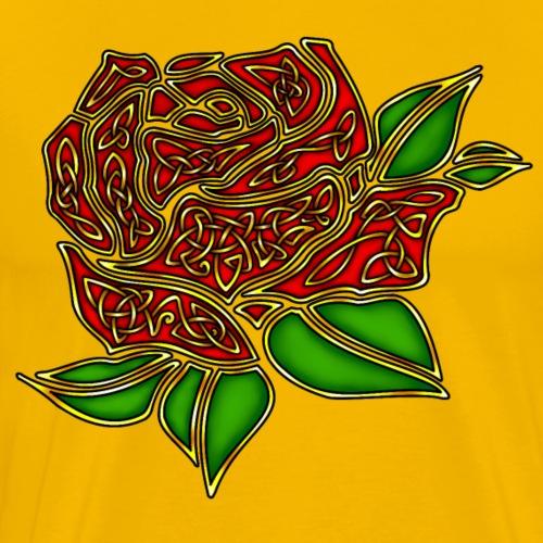 Celtic Rose - Men's Premium T-Shirt