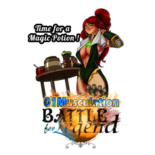 Mythrilisatrice- Battle for Legend X 01Musculation - T-shirt Premium Homme
