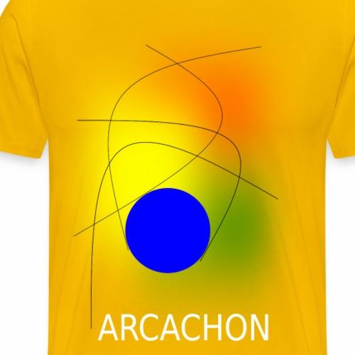 ARCACHON white - Men's Premium T-Shirt