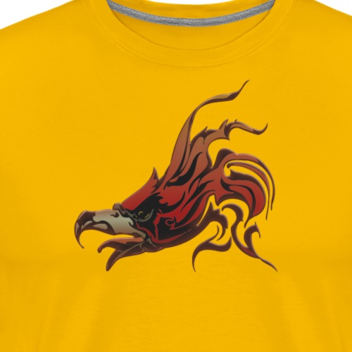 Fire Hawk - Men's Premium T-Shirt