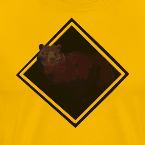 oso rap - Camiseta premium hombre