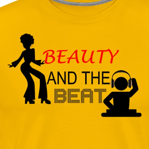 Beauty and the Beat - T-shirt Premium Homme
