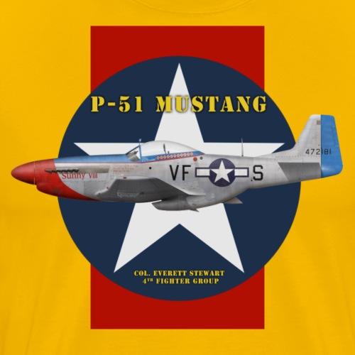 P-51 Sunny VIII - Men's Premium T-Shirt