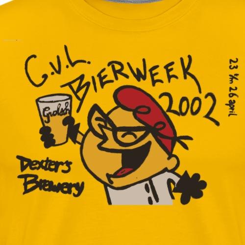 Bierweek 2002 - Mannen Premium T-shirt