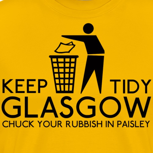 Keep Glasgow Tidy - Men's Premium T-Shirt