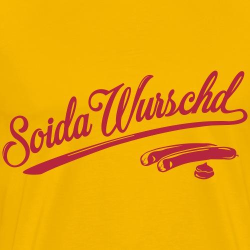 soidawurschd picto - Männer Premium T-Shirt