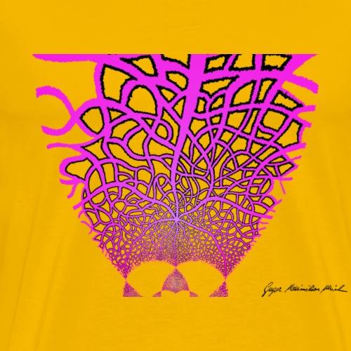 Karo mit Adern 47 1 - Männer Premium T-Shirt