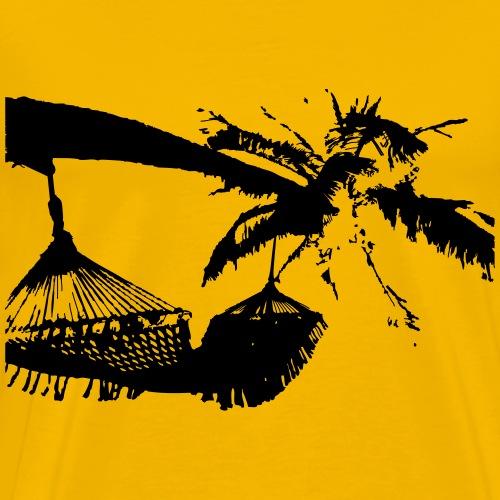 Chillout - Palme - Männer Premium T-Shirt