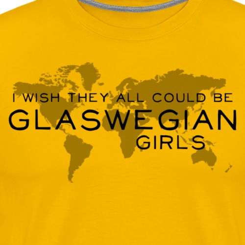 Glaswegian Girls - Men's Premium T-Shirt