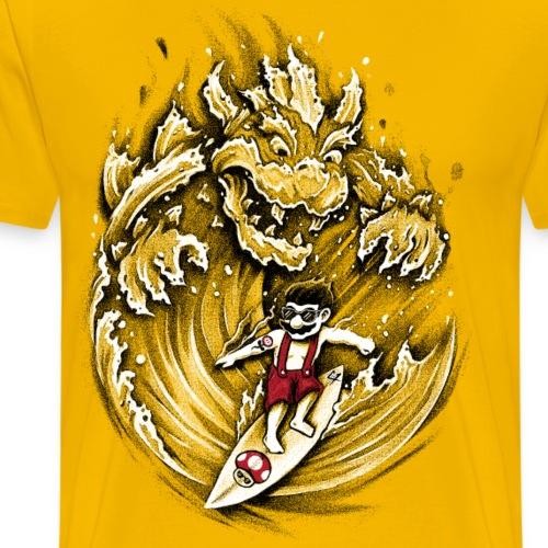 Surfing Mario - Men's Premium T-Shirt