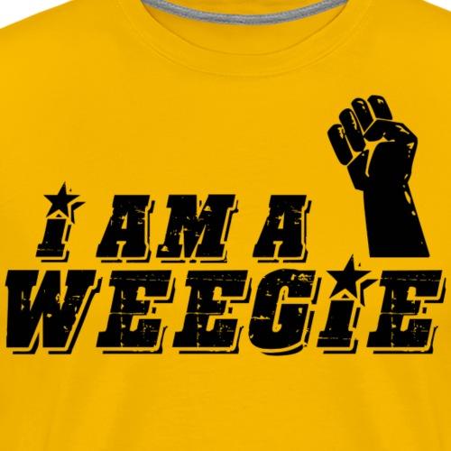 I Am A Weegie - Men's Premium T-Shirt