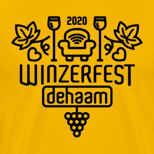 Winzerfest dehaam 2020 - Männer Premium T-Shirt