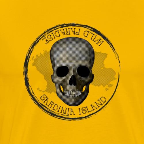 Sardegna Teschio Pirata - Maglietta Premium da uomo