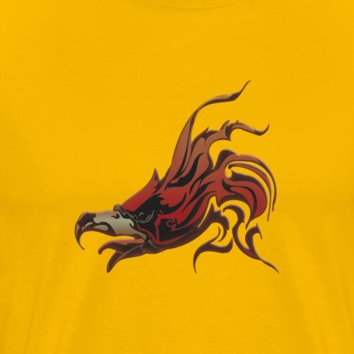 Fire Hawk - Men's Premium T-Shirt