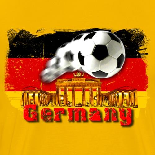 Germany Fussball - Männer Premium T-Shirt