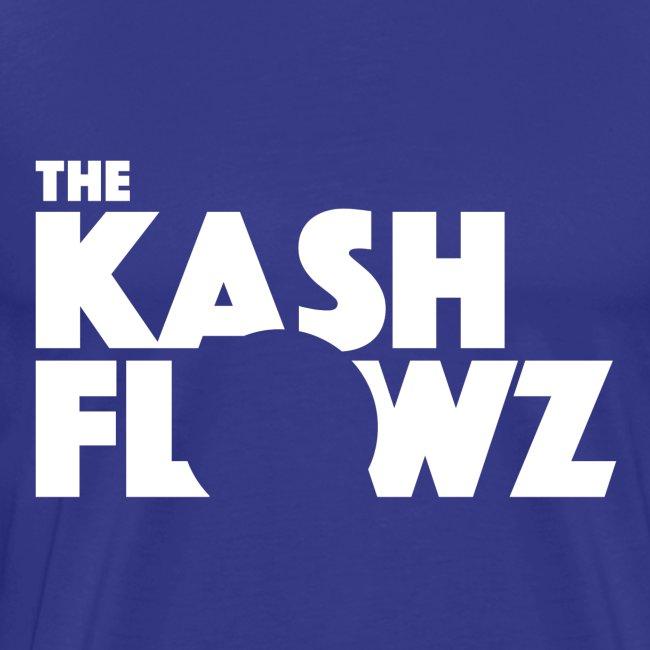 The Kash Flowz Official Logo White