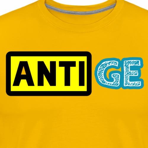 Anti GE - Männer Premium T-Shirt