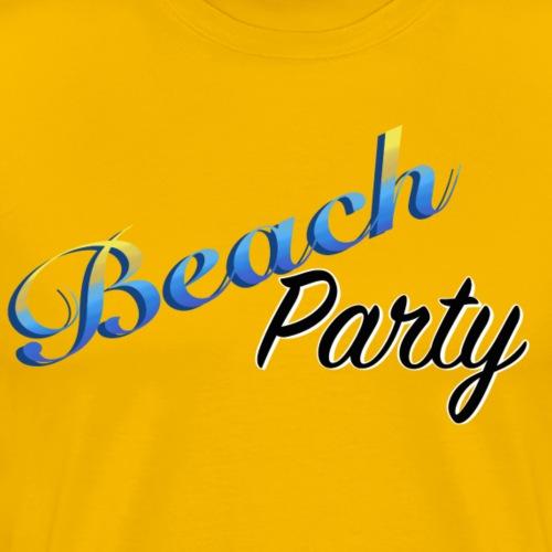 Beach Party - Premium-T-shirt herr