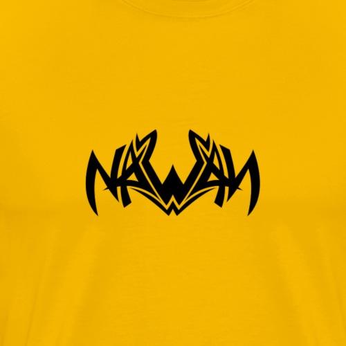 Logo NAWAN NOIR - T-shirt Premium Homme