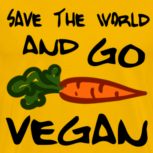 Save the World and GO VEGAN! Carrot :)
