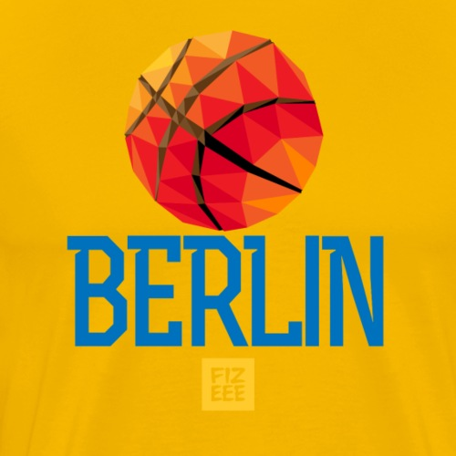 Berlin Let`s GOOOO - Männer Premium T-Shirt