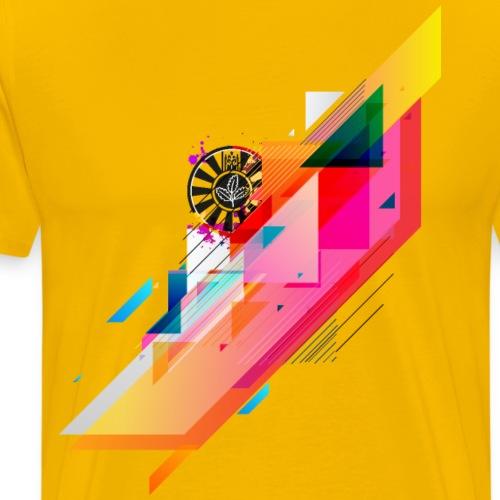 round table stripes - Männer Premium T-Shirt
