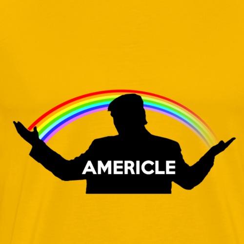 Americle - Maglietta Premium da uomo
