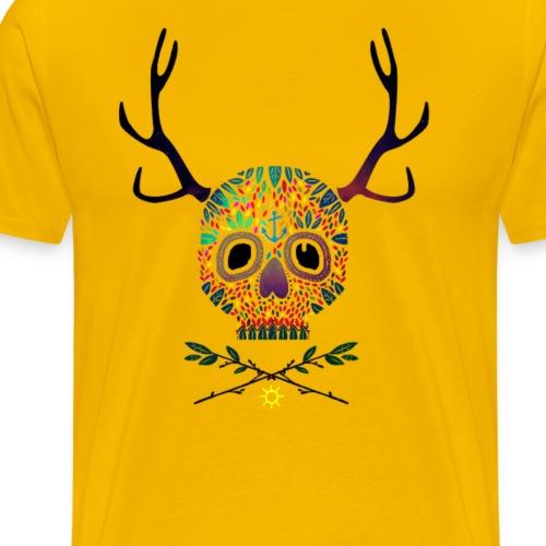 Space-Skull - Männer Premium T-Shirt