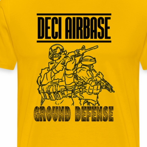 GROUND DEFENSE DECI AIRBASE - Maglietta Premium da uomo