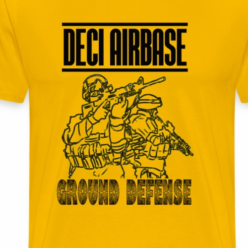 GROUND DEFENSE DECI AIRBASE - Maglietta Premium da uomo