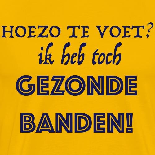 Gezonde - Mannen Premium T-shirt