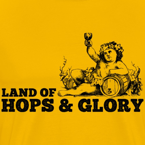 Land of Hops & Glory - Men's Premium T-Shirt