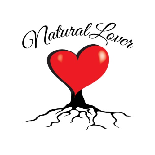 Natural Lover - Big red organic heart - PAN Design