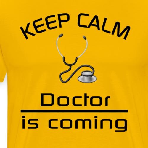 Keep Calm - Arzt - Männer Premium T-Shirt