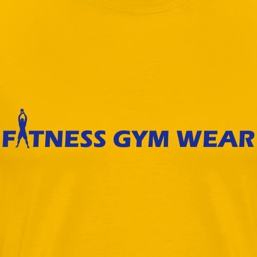 Fitness Gym Wear - Männer Premium T-Shirt