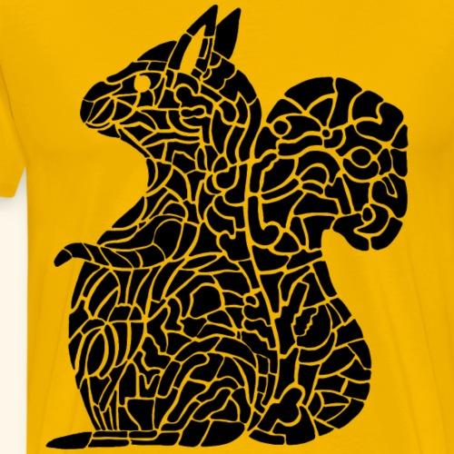 Eichhörnchen Eichhorn - Männer Premium T-Shirt