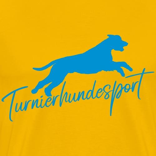 Turnierhundesport - Geschenkidee für Hundesportler - Männer Premium T-Shirt