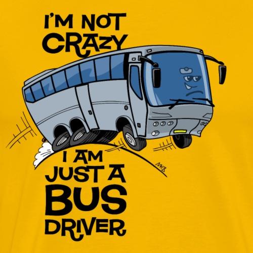 0710 i am not crazy - Mannen Premium T-shirt