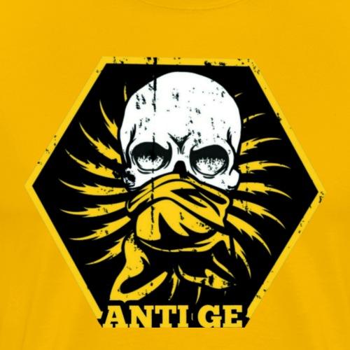 Anti GE Skull - Männer Premium T-Shirt