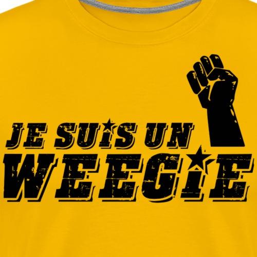 Je Suis Un Weegie - Men's Premium T-Shirt