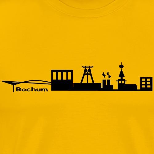 Skyline Bochum - Männer Premium T-Shirt